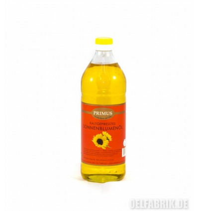 Sonnenblumenöl - Kaltgepresst